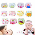 Baby Waterproof Washable Reusable Cloth Diaper Adjustable Pant Cake Pattern TY