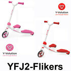 Y Fliker J2 Kids Scooter - Pink / Red - Limited Stock - Special Offer - Xmas