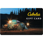 $100 Cabela's Physical Gift Card - FREE Standard 1st Class Mail Delivery