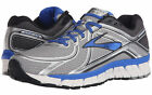 Mens Brooks Adrenaline GTS 16  Running Shoes Silver Electric Brooks Blue Wide 2E