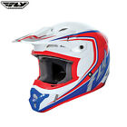 Fly Racing 2017 Full Speed MX Motocross Off Road Helmet Childrens Red Blue