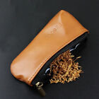 Portable Miniature Durable Zipper Cigarette Smoking Pipe Tobacco Pouch Case Bag