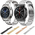 Stainless Steel Watch Band Strap for Samsung Gear S3 Classic /Frontier Black Red