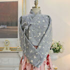 [Korea Costume Life Hanbok] Top Knitted Embroidery Gray Flat Pattern Cotton