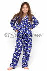 Pyjamas Girls Cotton Flannel (sz 8-14) Pjs Set Purple Panda & Stars Sz 8 10 12 1