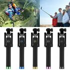 Built-in Shutter Remote Bluetooth Extendable Selfie Stick Unipod for iphone 6s 7