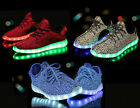 New 7 LED Light Lace Up Luminous Shoes Sportswear Sneaker Casual Shoes (Kids)