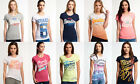 New Womens Superdry T-Shirts Selection. Various Styles & Colours