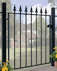 Salva Spear Top Garden Gate Fits 762mm To 1067mm Gap Wrought Iron Metal Gates