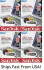 SanDisk Ultra Flair 16GB 32GB 64GB 128GB USB 3.0 Flash Drive Memory Stick Lot
