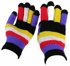 Men Women Winter Warmer Knit Knitted Casual Gloves Stretch One Size Many Styles
