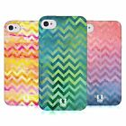 HEAD CASE DESIGNS WATERCOLOUR CHEVRON SOFT GEL CASE FOR APPLE iPHONE 4 4S