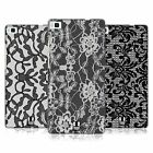 HEAD CASE DESIGNS BLACK LACE HARD BACK CASE FOR HUAWEI P8