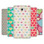 HEAD CASE DESIGNS HEART PATTERN SOFT GEL CASE FOR SONY XPERIA M2