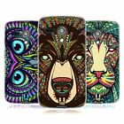 HEAD CASE DESIGNS AZTEC ANIMAL FACES SOFT GEL CASE FOR MOTOROLA MOTO G (1ST GEN)