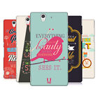 HEAD CASE DESIGNS TEACHINGS OF CONFUCIUS HARD BACK CASE FOR SONY XPERIA Z