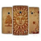 HEAD CASE DESIGNS WOOD ART SOFT GEL CASE FOR NOKIA LUMIA 520 / 525