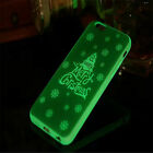 Dark Glowing Soft TPU Silicone Christmas Case Cover Skin For iPhone 6 6S 7 7Plus