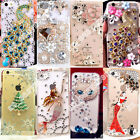 DIY Case Handmade Bling Crystal Diamond Rhinestone Hard Clear Cover For Phones