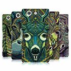 HEAD CASE DESIGNS AZTEC ANIMAL FACES SERIES 6 CASE FOR SONY XPERIA Z3 COMPACT