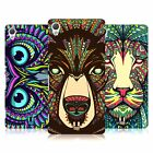 HEAD CASE DESIGNS AZTEC ANIMAL FACES HARD BACK CASE FOR SONY XPERIA Z3+ Z4