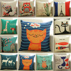 Awesome Home Decor Linen Cushion Cover Pillow Case Sofa Bed Kids Room Cushions