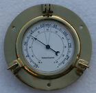 Nautical Port Hole Thermometer insert 98mm White dial