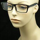 Clear lens glasses nerd geek fake eye wear men women wayfarer hipster frame