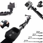 Water Resistant Extended Pole MONOPOD for GoPro Hero 4 Black Silver Session X 40