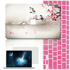 "Blossom Magpie Paint Hard Laptop Case Cover For Macbook Pro Touch Air11""13""15""12"
