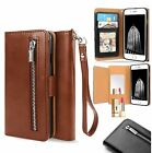 Luxury Leather Card Wallet Flip Case Cover for Apple iPhone 7 6S 6 Plus