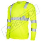 Kyпить Hi Vis T Shirt ANSI Class 3 Reflective Safety Long Sleeve HIGH VISIBILITY на еВаy.соm