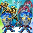 Bumblebee Optimus Prime Transformers Foil Balloons Toy B Birthday Party Supplies