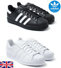 Men's adidas Originals Superstar Foundation Leather Trainers Sports BRAND NEW
