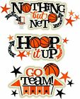 Basketball die cuts Cardmaking Scrapbook Embellishment Paper Piecing
