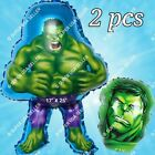 INCREDIBLE HULK Balloons Avengers Marvel Heroes Party Supplies Shower Birthday A