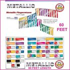 Metallic Pennant Flag Streamers - Fingerstone - Choose Your Color