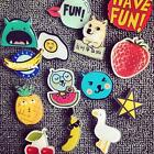 Newest Acrylic Cute Lovely Collar Pin Badge Corsage Cartoon Brooch Jewellery HK