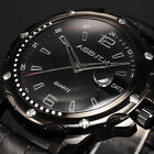 5 Color AgentX Fashion Sport Date Analog Leather Band Men's Quartz Wrist Watch