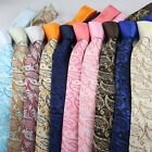 Coachella Ties Paisley Contrast Knot Tie Formal Necktie (10 Colours For Choose)