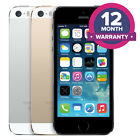 Apple iPhone 5S Unlocked Smartphone - 16GB 32GB 64GB - All Colours <br/> UK SELLER ✔ 12 MONTH WARRANTY✔ SAME DAY DISPATCH✔