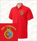 HMS YARMOUTH Embroidered Polo Shirts