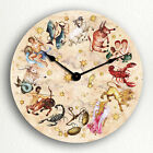 Signs of the Zodiac Beautiful Astrology Horoscope Themed Silent Wall Clock