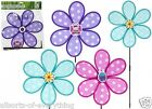Garden Windmill with Spots 2 Tier Ornament Purple Pink or Blue 29cm