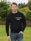 Personalised Embroidered Sweatshirt Workwear Customised 280g Hot Deal!