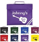 Kids Personalised Guitar Themed Music Book Bag - 8 Colours - Fantastic Gift