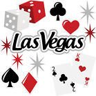 Las Vegas die cuts Vacation Title Die cut Scrapbook Scrapbooking Embellishment