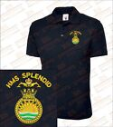 HMS Splendid Embroidered Polo Shirts