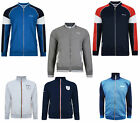 Mens Lambretta Zip Funnel Monkey Sweat Top Tracksuit Jackets Sizes S to 2XL