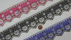 "3 Yd Jacquard Trim 2.10"" wide Woven Border Sew Embroidered Ribbon Lace T901"